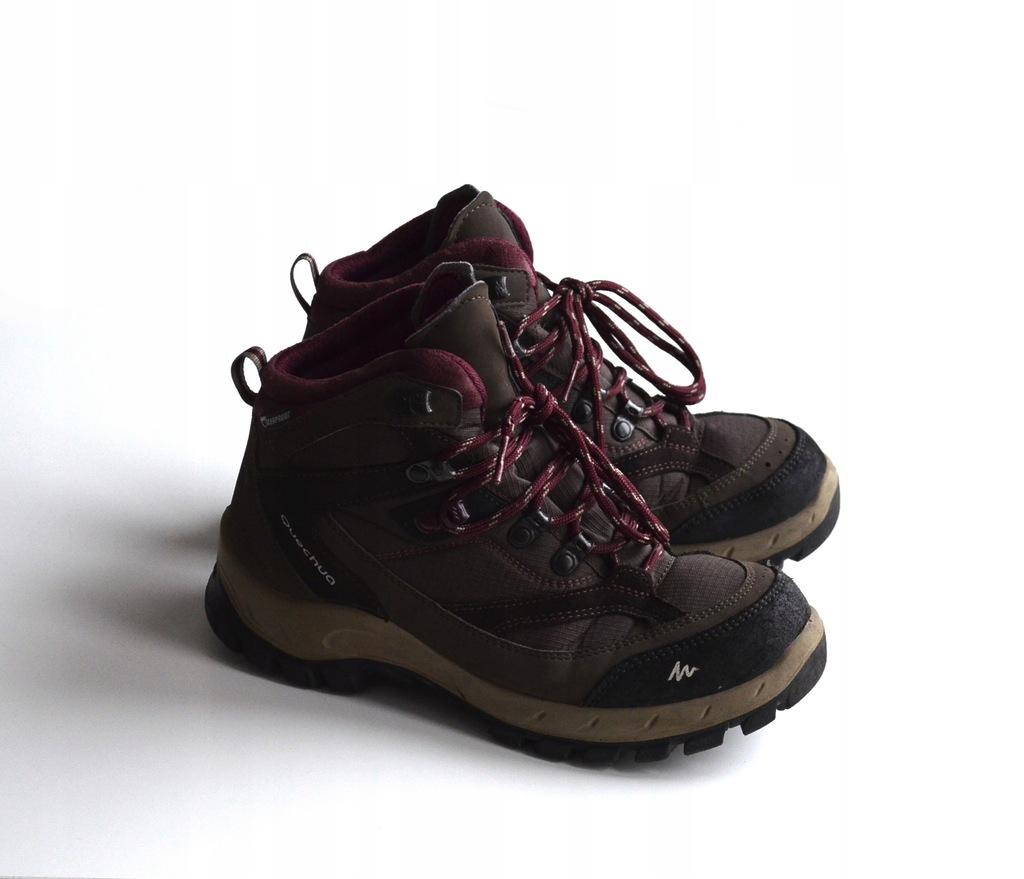 Decathlon Quechua Damskie Buty Trekkingowe Gory 38 8888241289 Oficjalne Archiwum Allegro