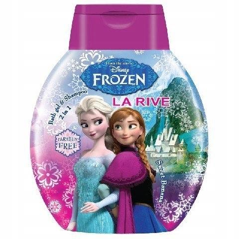 La Rive Disney Frozen Żel po d prysznic 2w1 250ml
