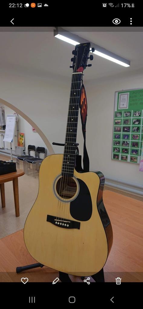 Gitara akustyczno- elektryczna SAGG