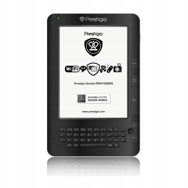 Czytnik Ebook Prestigio PER5162BEN WiFi Radio ETUI