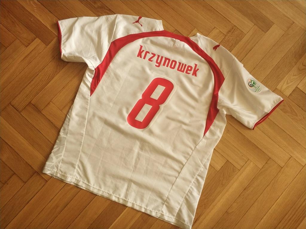 UNIKAT Koszulka Puma Polska 2006 #8 KRZYNOWEK