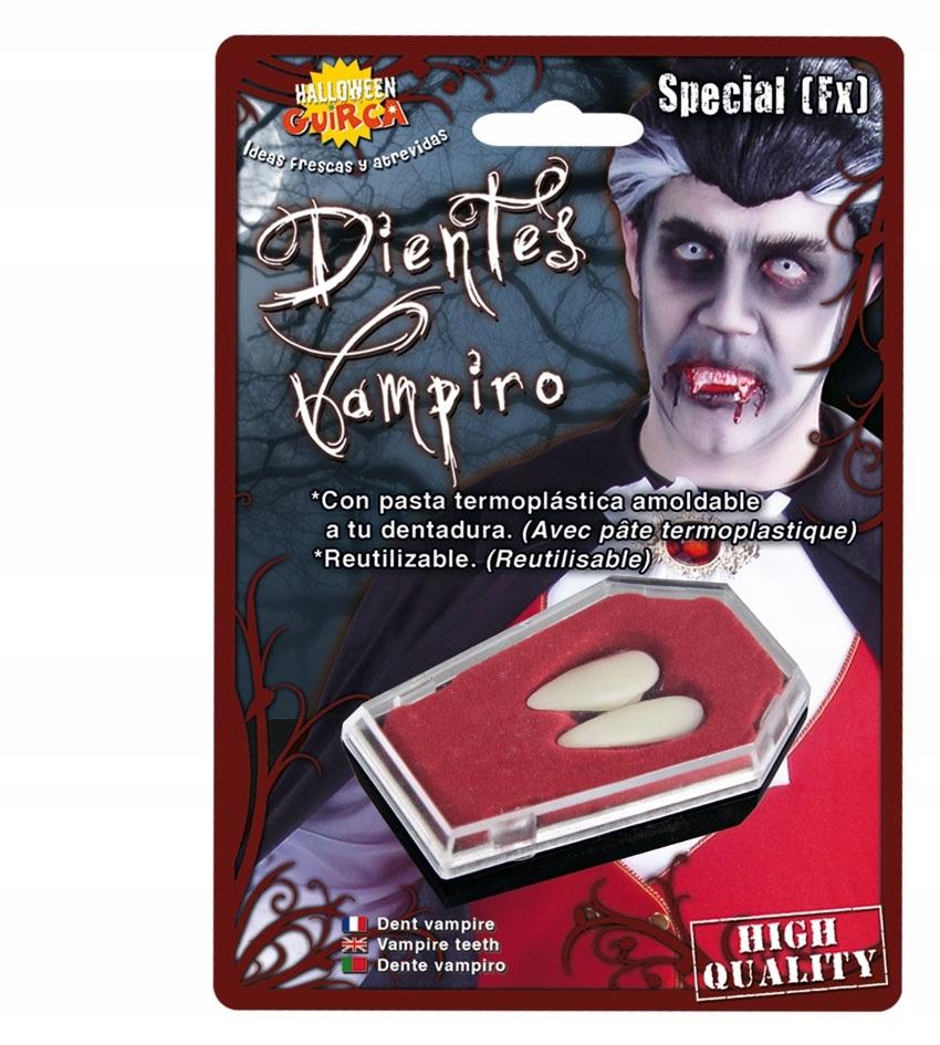 Sztuczne kły wampira Halloween party