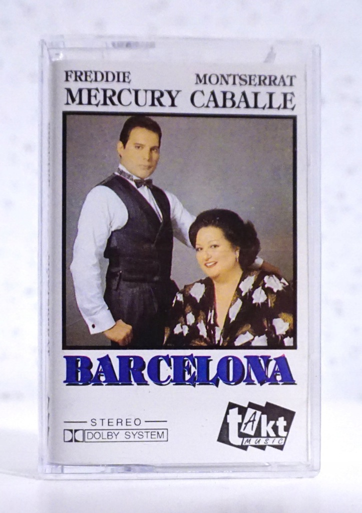 Kaseta Freddie Mercury M Caballe Barcelona 8395031681 Oficjalne Archiwum Allegro