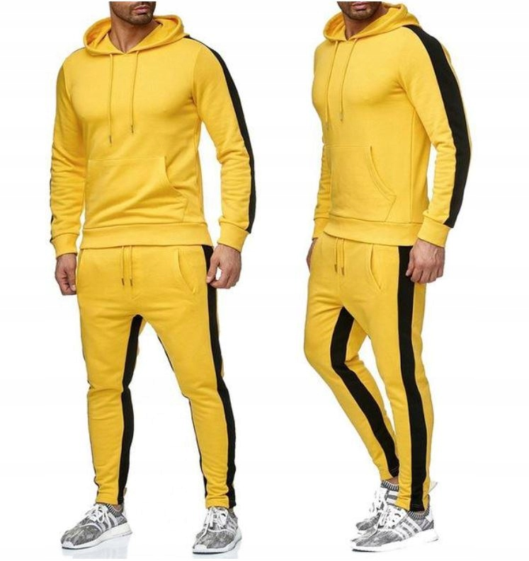 Zestaw Komplet Sportowy Bluza + Spodnie L