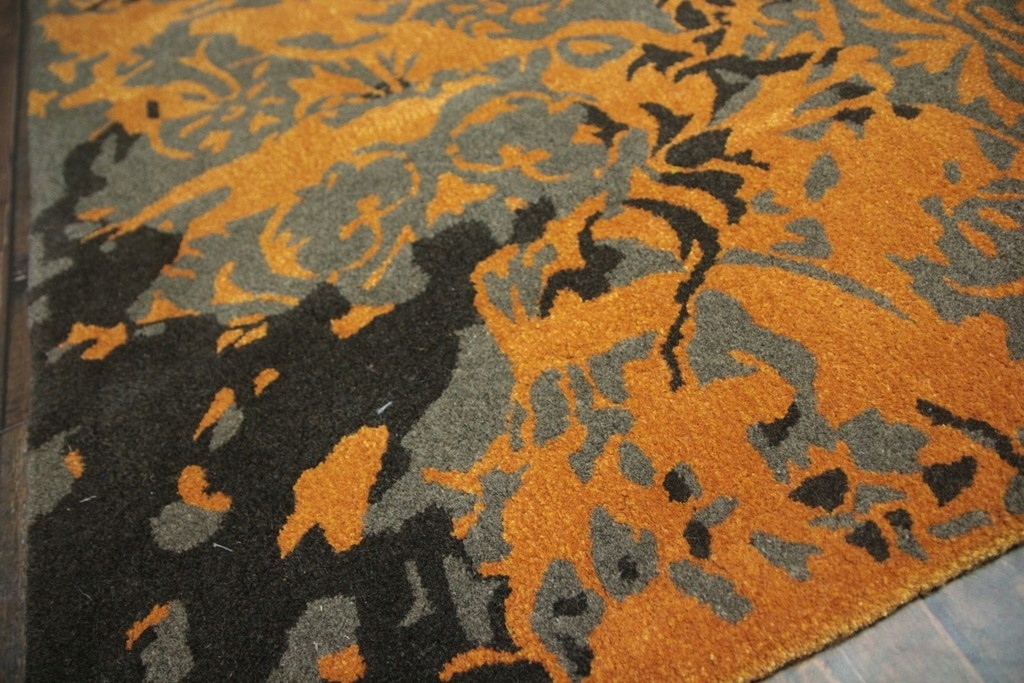 Wełniany oryginalny piękny dywan indyjski 160x230