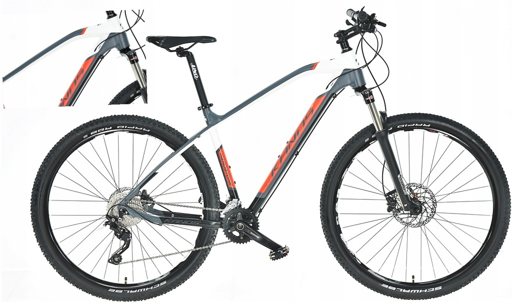 KANDS HARDSTONE ROWER 29 MTB DEORE HYDR 19' BIA-CZ