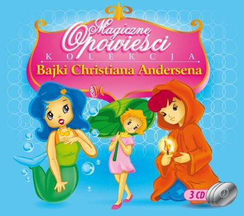 BAJKI CHRISTANA ANDERSENA 3CD Calineczka