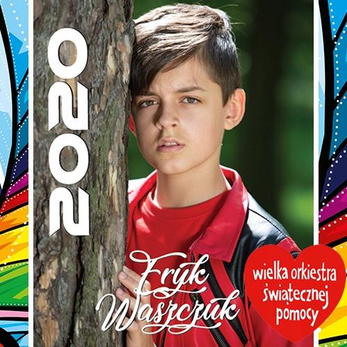 Eryk Waszczuk z The Voice Kids - kalendarz 2020