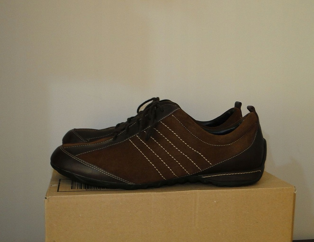 Buty ECCO Biom Comfort Leather Brown