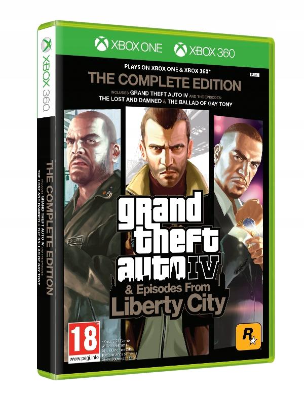 Grand Theft Auto Iv Complete Edition Xbox One 7795774200 Oficjalne Archiwum Allegro