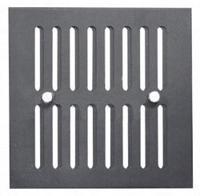 Kratka wentylacyjna kominowa 14x14cm grafit