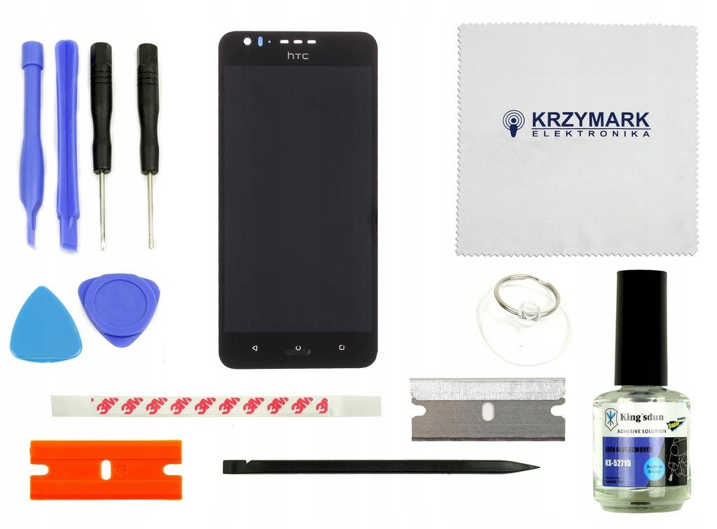 HTC 825 LCD+DOTYK WYŚWIETLACZ DIGITIZER CZARNY