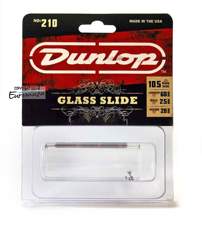 Dunlop 210 Profesjonalny Slide Szklany