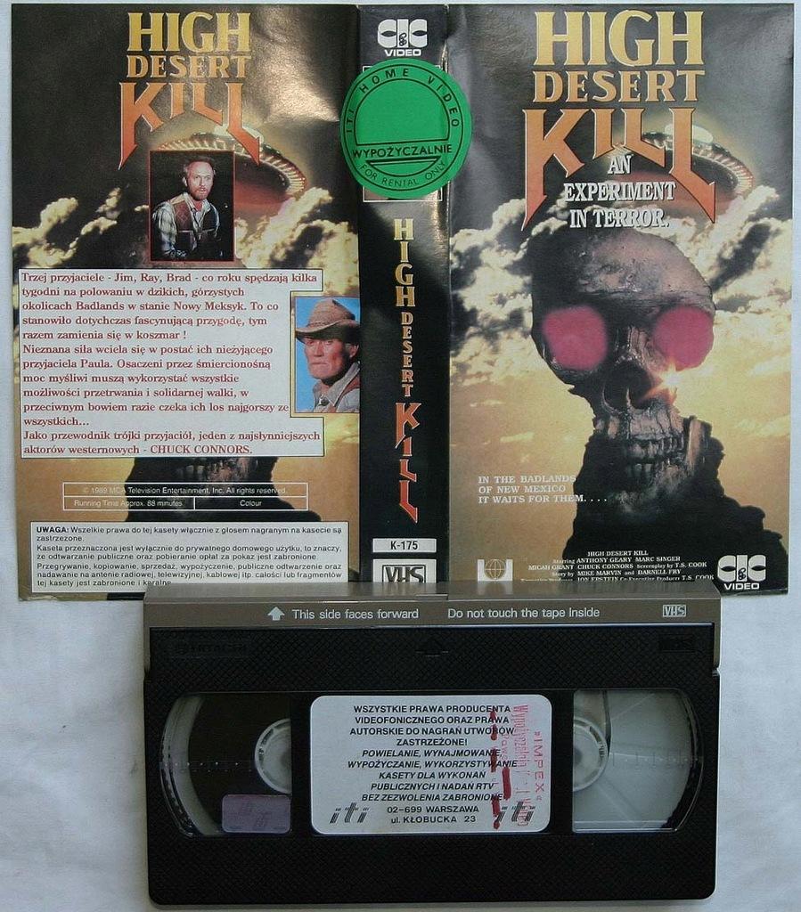 Koszmarne polowanie - VHS