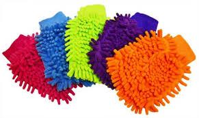 Myjka rękawiczka z wypustkami