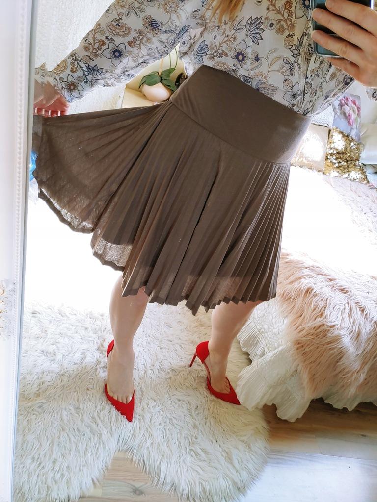 Baggini spódnica plisowana plisy r. 44