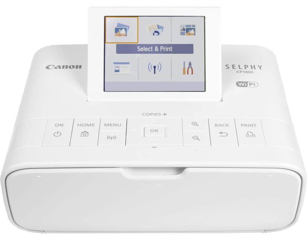 Canon SELPHY CP1300 drukarka biała