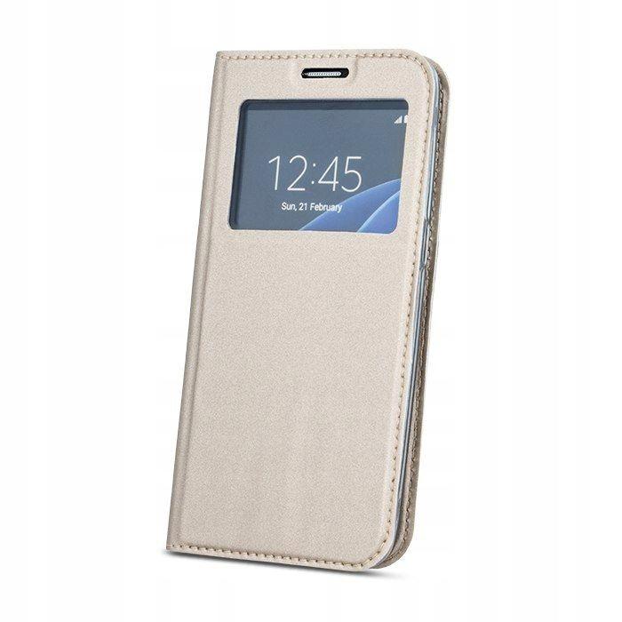 Pokrowiec Smart Look do Samsung S7 G930 złoty