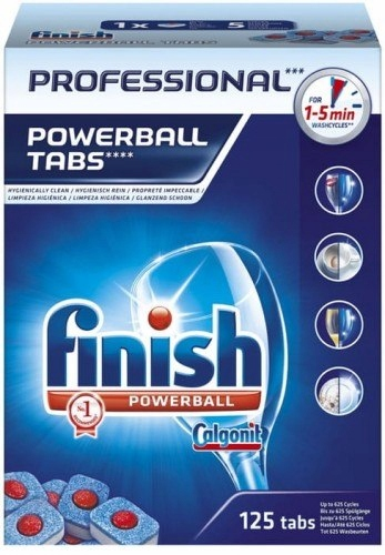 Finish Professional tabletki do zmywarki 125 szt.