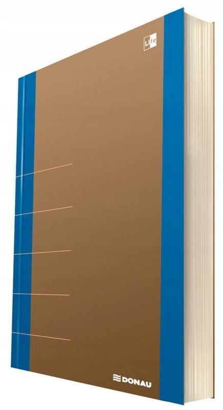 Notatnik donau life organizer 80 kartek niebieski