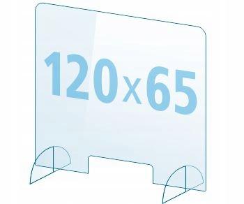 OSŁONA z pleksi ochronna PB szyba 4mm plexi 120x65