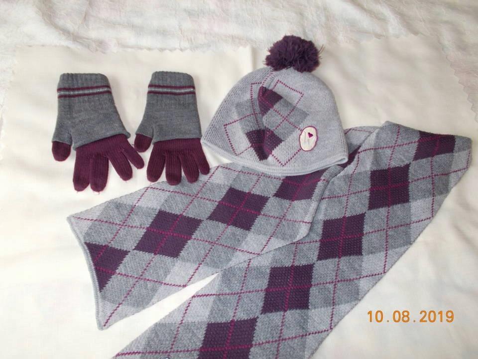 Czapka, szalik + rekawiczki WÓJCIK