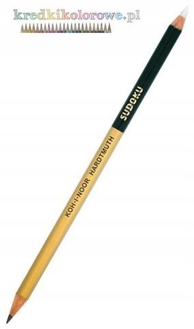 Ołówek grafitowo-gumowy 1350 Sudoku 2B