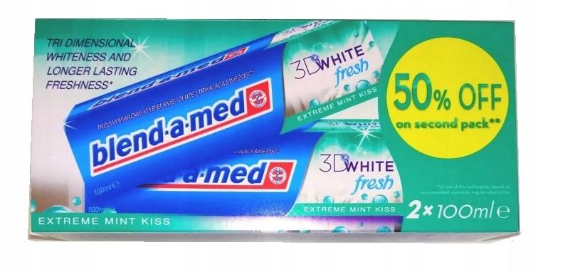 Blendamed pasta do zębów 2x100ml Extreme Mint Kiss