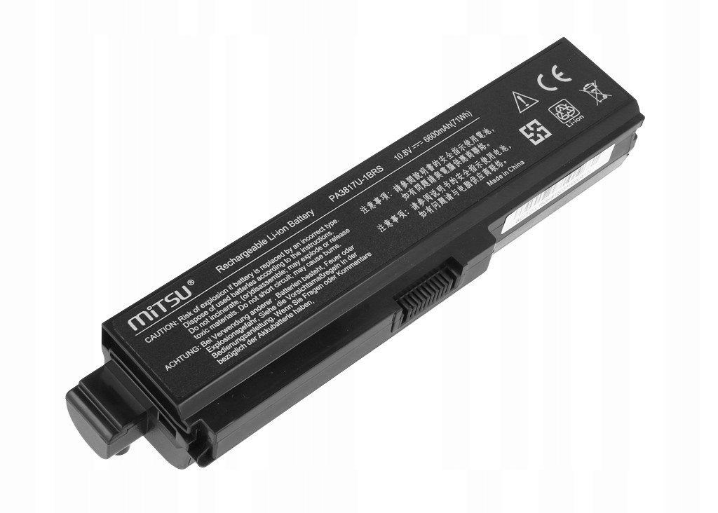 * Bateria do Toshiba Satellite Dynabook L750D L750