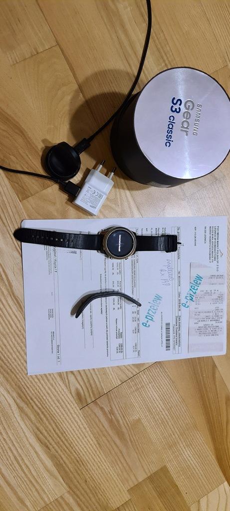 Smartwatch Samsung Gear S3 Classic, srebrny