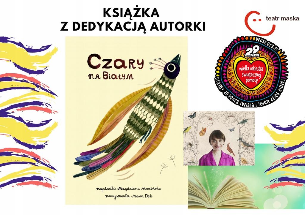 """Książka """"Czary na białym"""" Magdalena Mrozińska"""