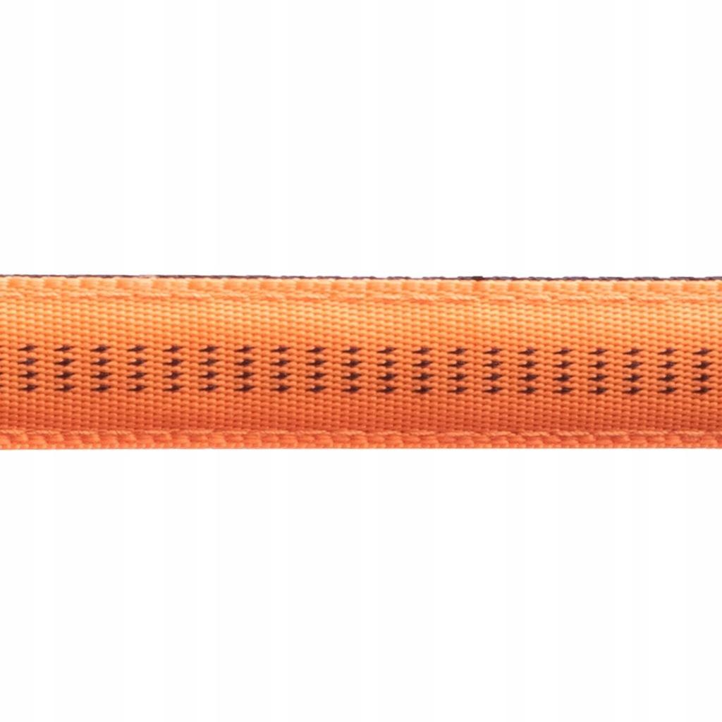 Smycz+obroża Soft Style Happet pomarańcz XL 2.5