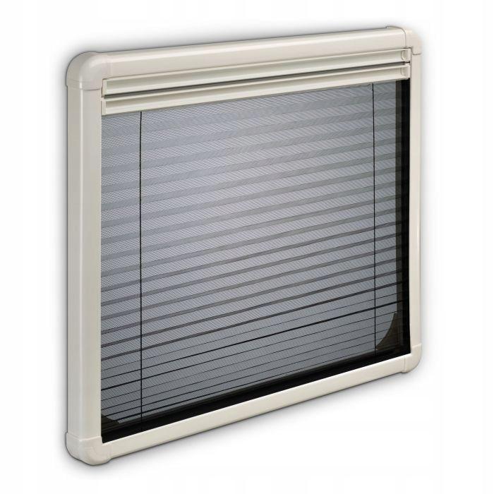 Roleta plisowana okna z moskitierą 703x465 Dometic