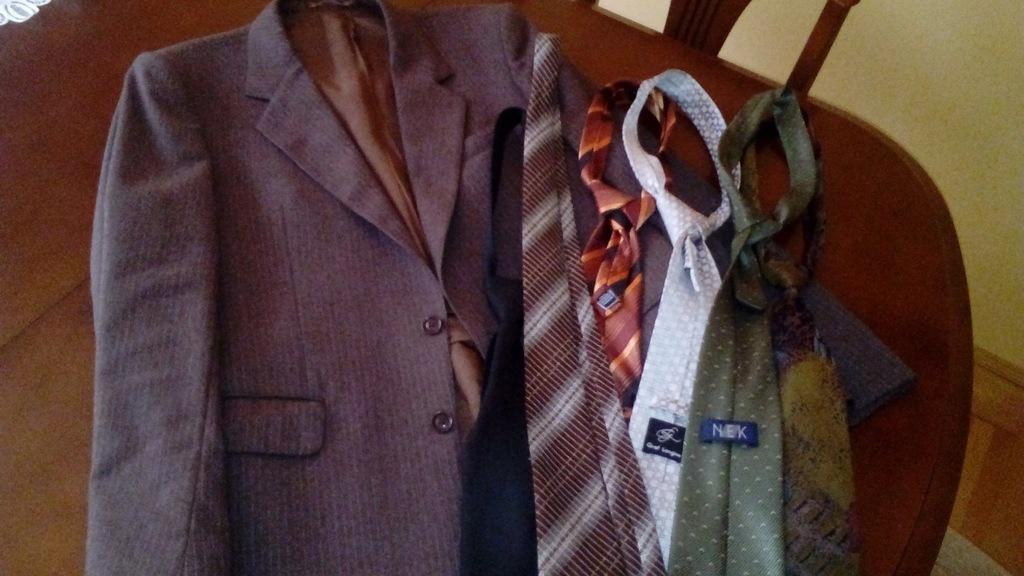 Krawaty komplet lub osobno
