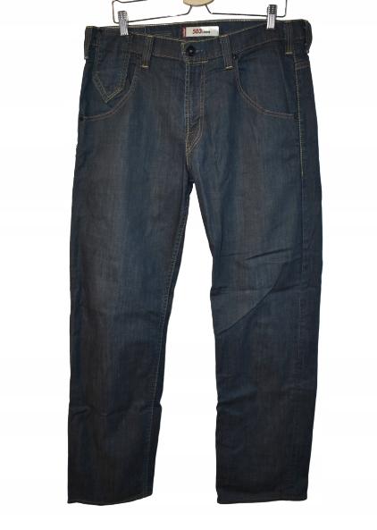 LEVI'S 503 LOOSE oryginalne spodnie jeansy 34/34