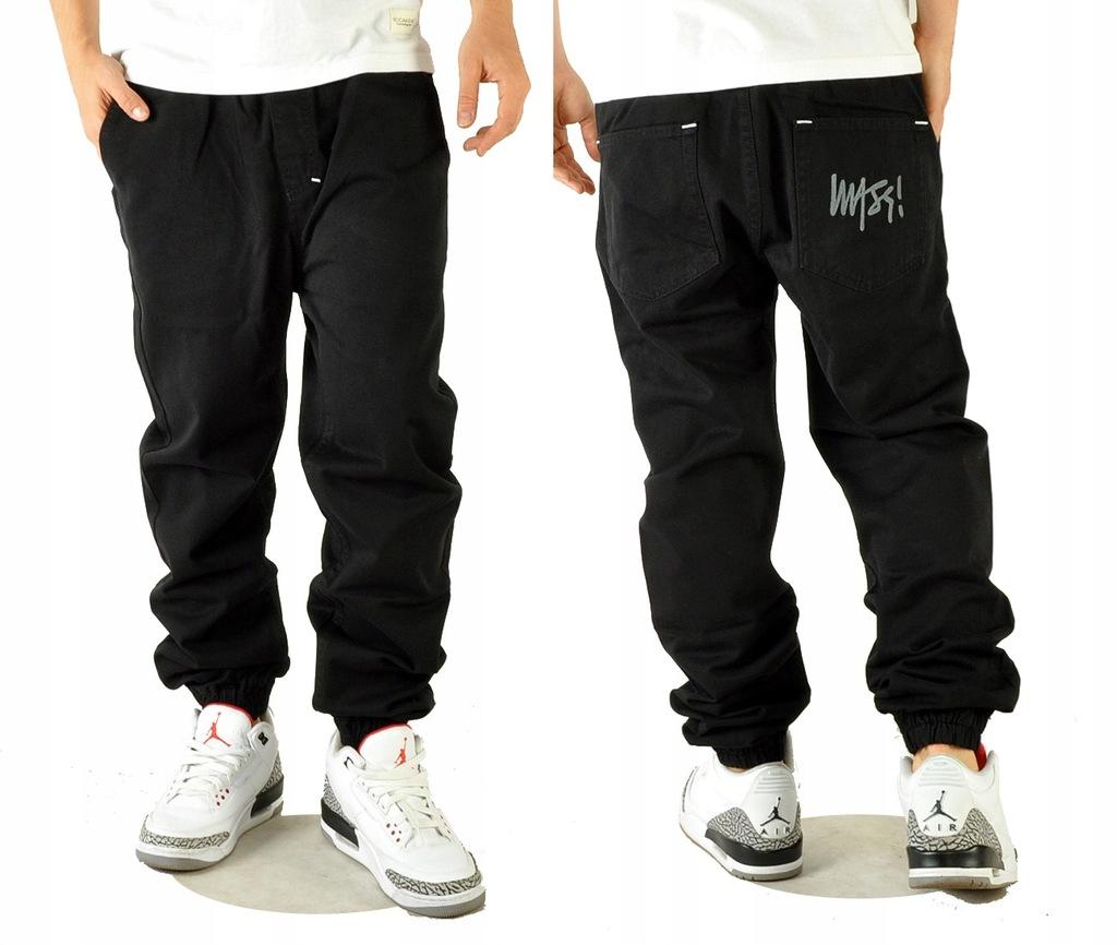 Spodnie 32 Mass Dnm Signature Jogger BW joggery