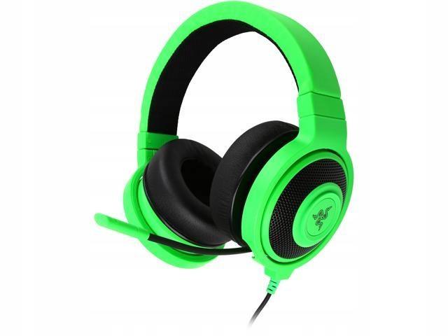 Słuchawki Kraken Pro zielone Razer