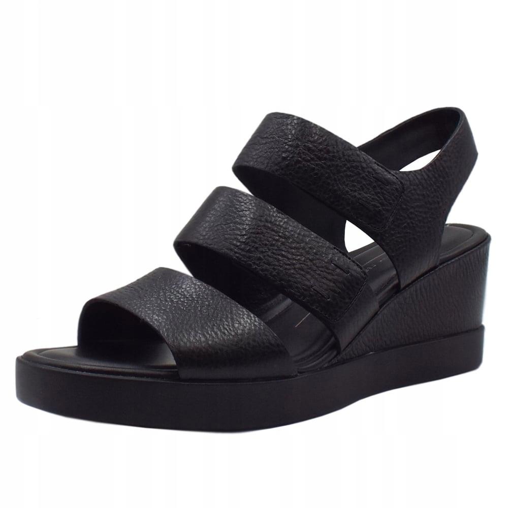 ECCO komfortowe sandały 38 (24,5cm) skóra j.nowe