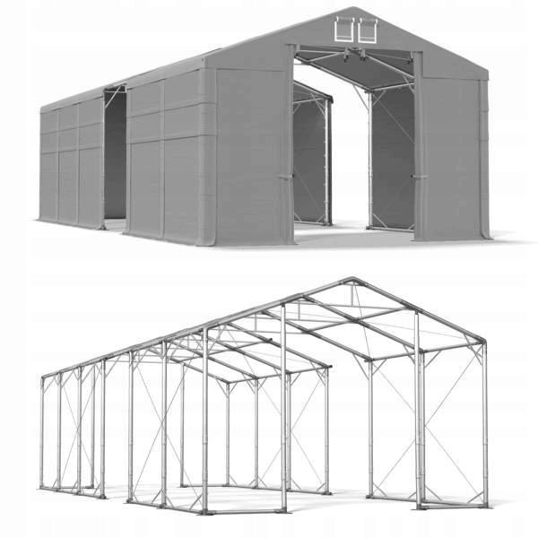 5x13m 4-4,9m Namiot magazynowy całoroczny polar