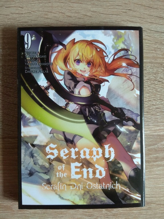 Seraph of the End Serafin dni ostatnich tom 9