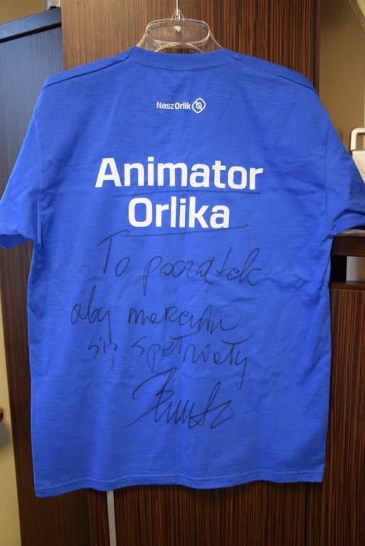 koszulka z autografem Bogdana Wenty