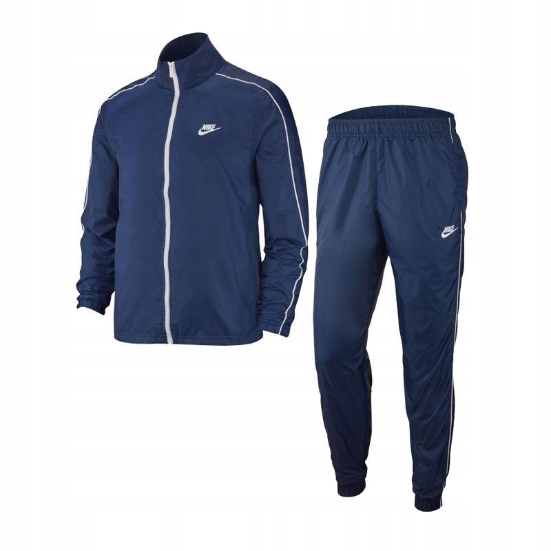 Dres Nike NSW Tracksuit Woven Basic M BV3030-410 L
