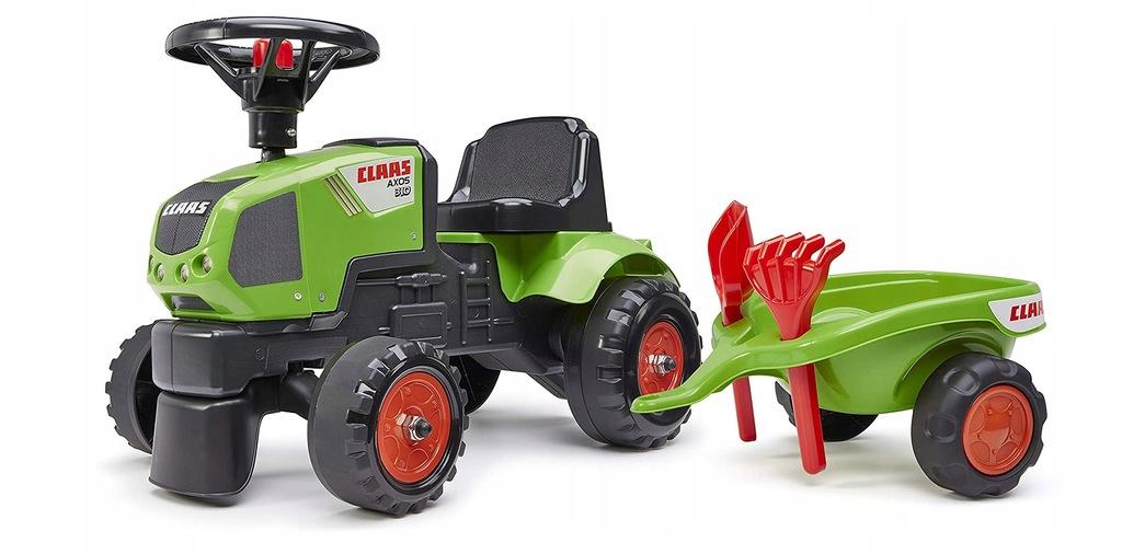 CLAAS Mały Traktorek z Przyczepką dla Najmłodszych