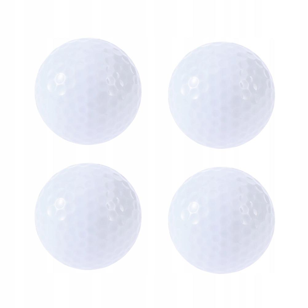 4pcs Flashing Glowing Golf Ball Night Glow Flash