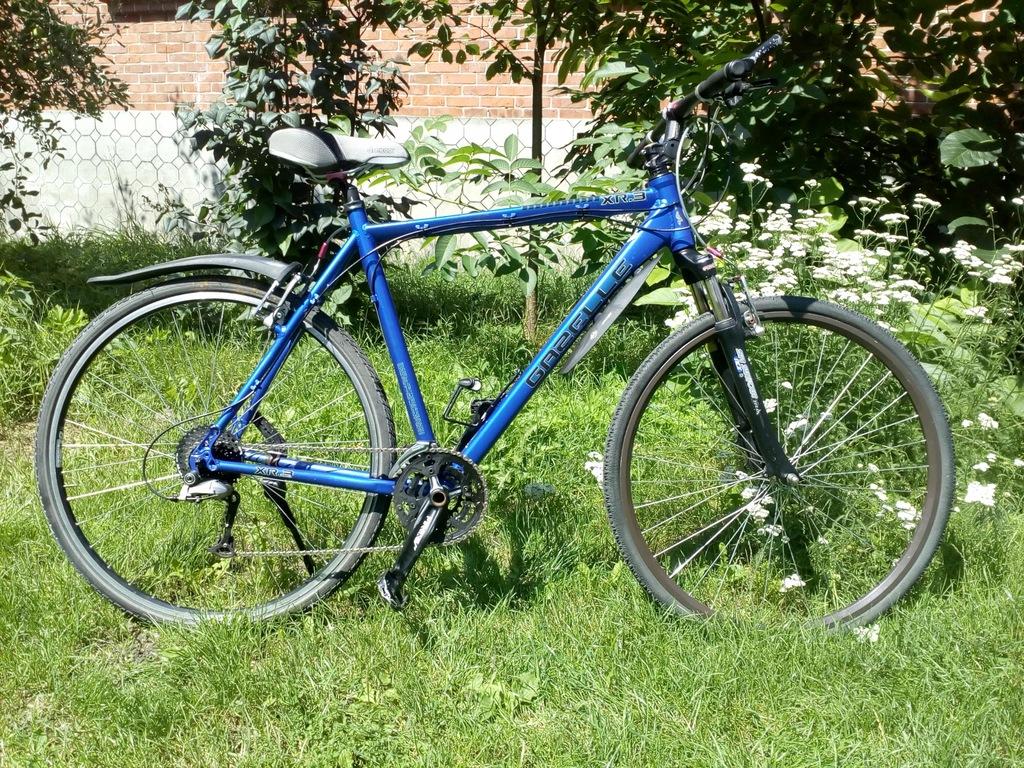 Gazelle rower na deore lx, stan bdb
