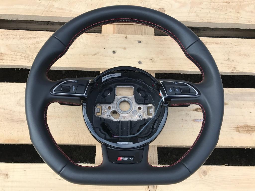 Audi Rs4 A4 B8 Kierownica Sportowa 8k0419091cl 6877492199 Oficjalne Archiwum Allegro