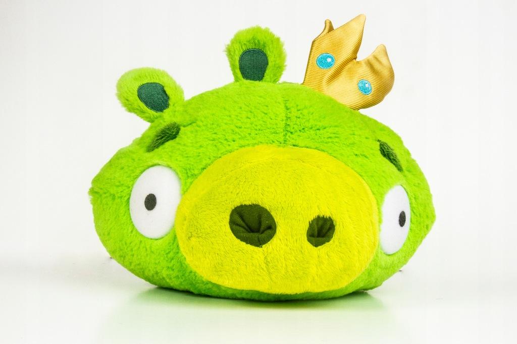 Angry Birds Krol Swin Pierwsza Seria Ok 20 Cm 7872343255 Oficjalne Archiwum Allegro