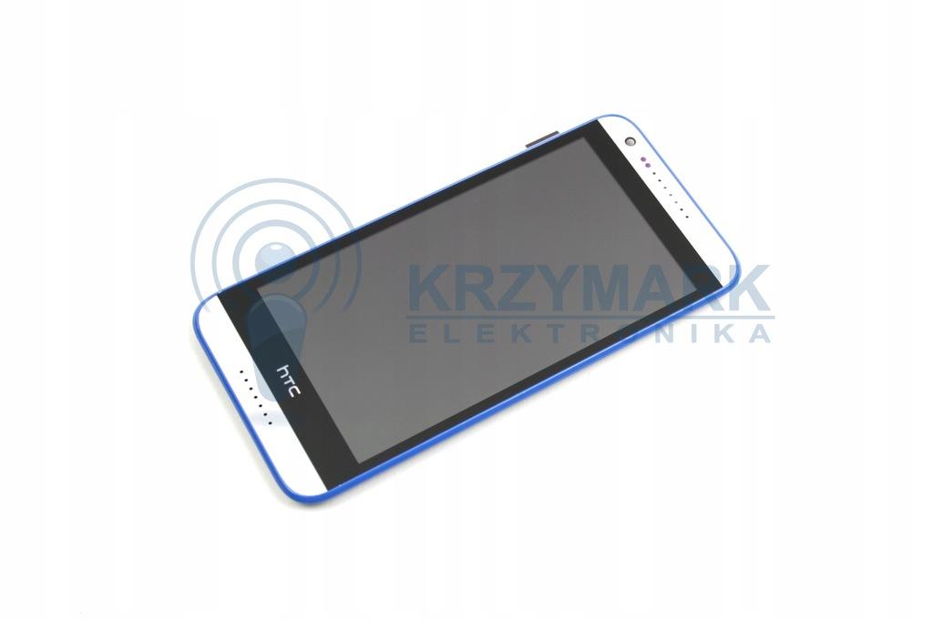 WYŚWIETLACZ DIGITIZER LCD HTC DESIRE 620 RAMKĄ Z