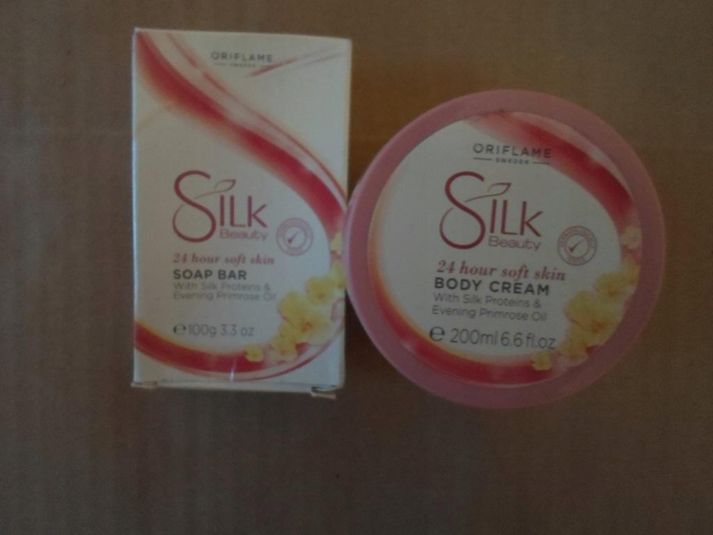 Zestaw pielęgnacyjny Silk Beauty.