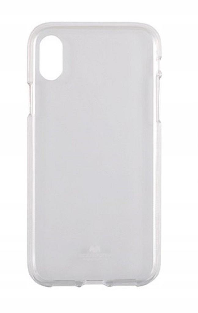 Etui Jelly Mercury Iphone X transparentne